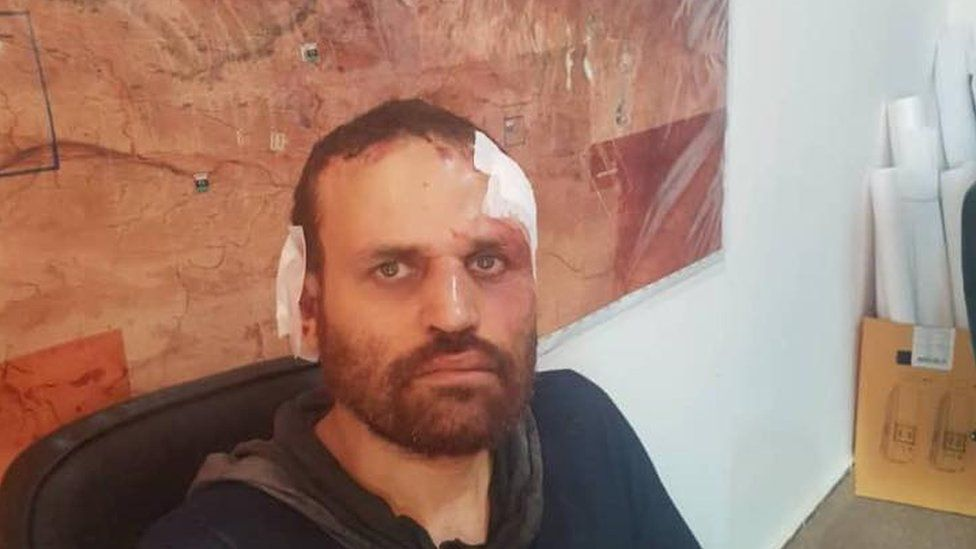 Hisham Ashmawi after being captured in Libya in October 2018