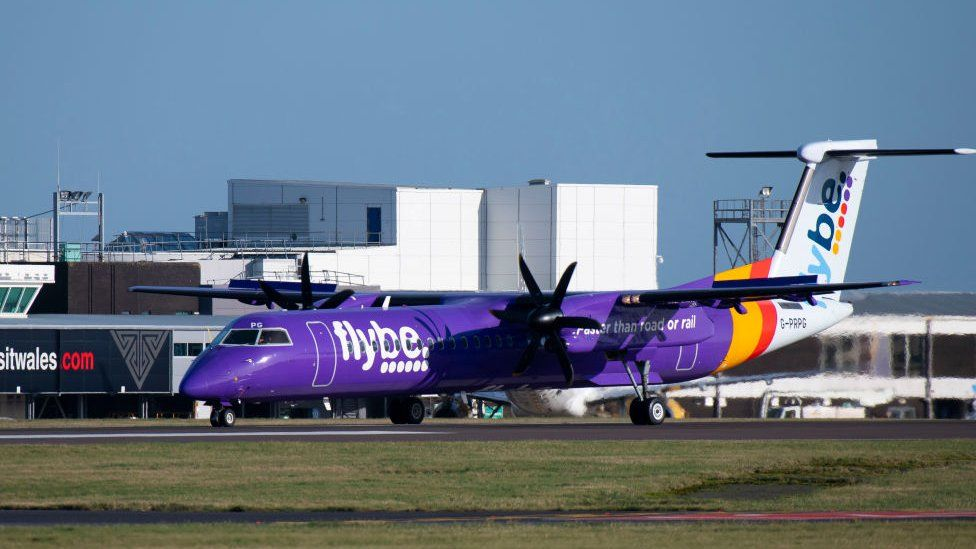 The airline was responsible for about 24% of the flights from Cardiff Airport