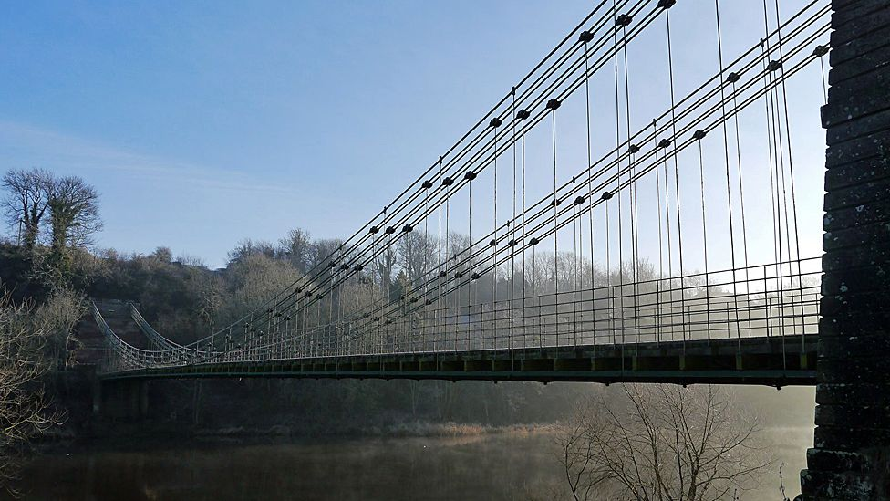 Union Chain Bridge: Scotland-England link's future secured