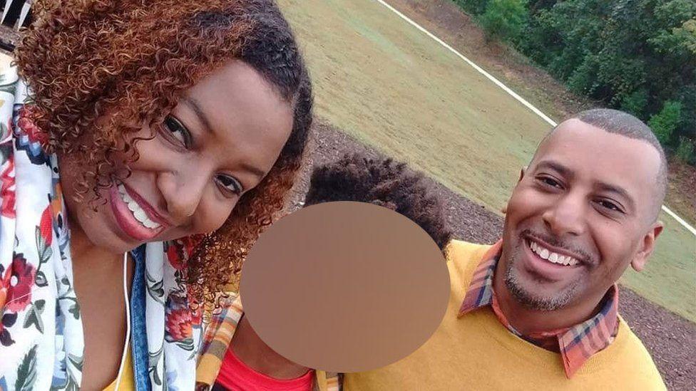Maleka Grimes Jackson, her husband Tiran Jackson and their 12-year-old son
