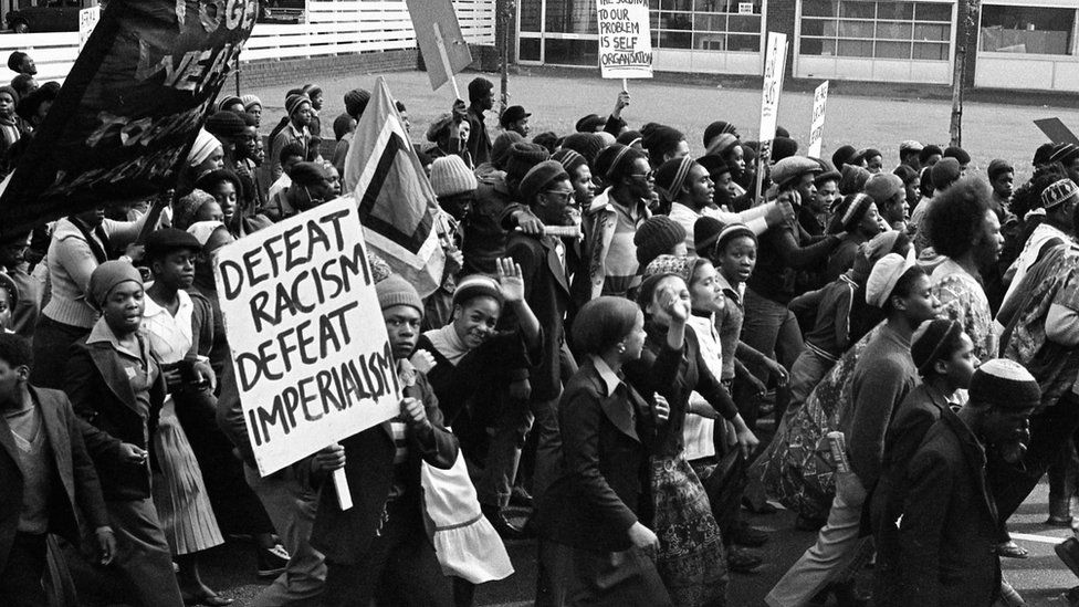African Liberation Day Protest 1977