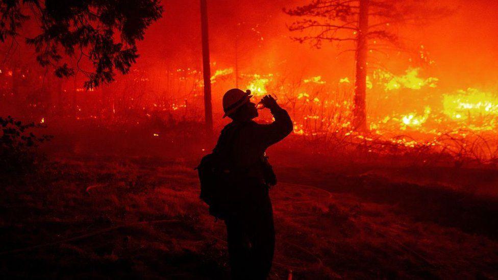 California firefighter