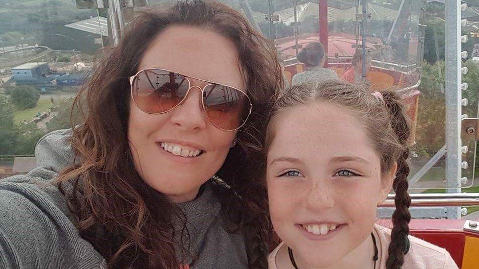 Vikki Howells and daughter Catrin