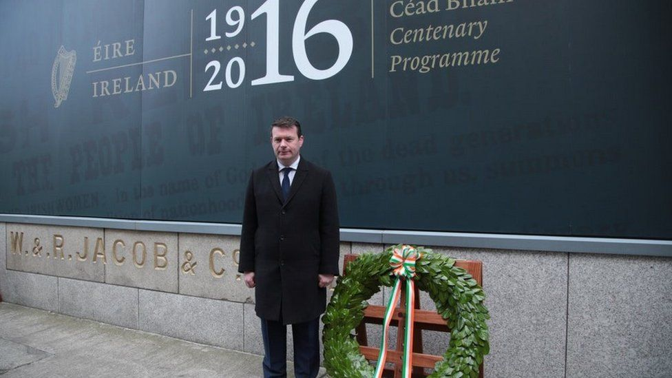 Acting Minister For Environment Alan Kelly