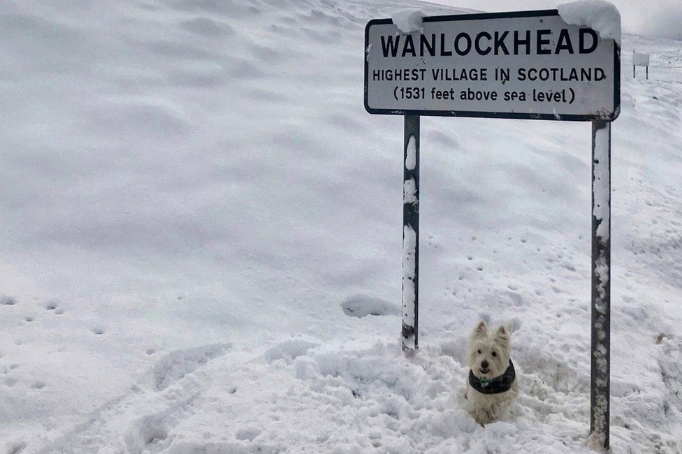 Wanlockhead is not as high as the sign claims