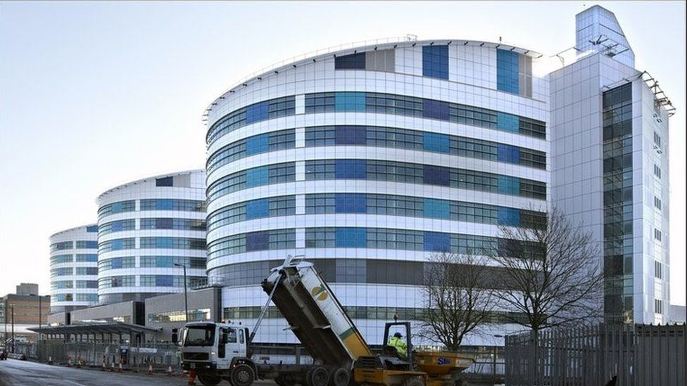 QE Hospital in Birmingham