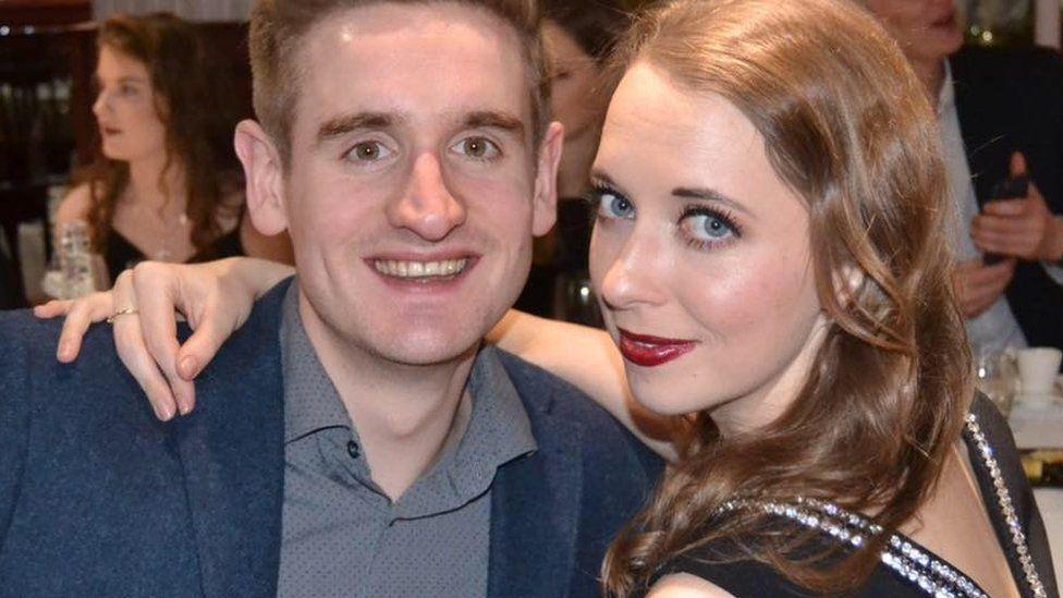 Robert Taylor and Hannah Wilkinson