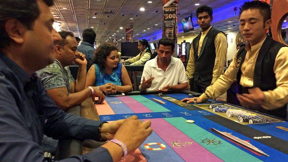 A casino in Goa