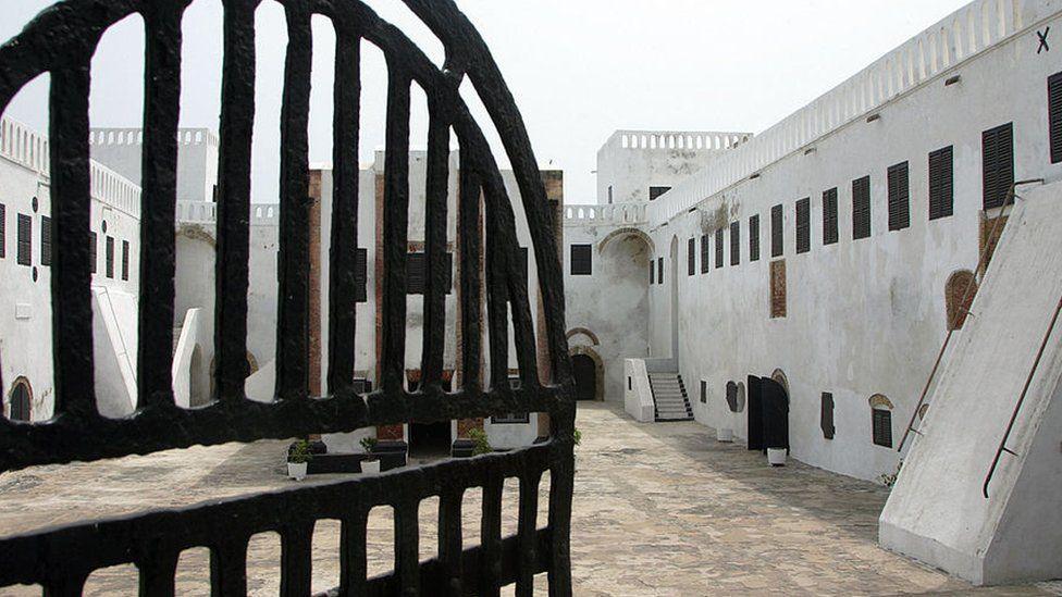 Dungeons at Elmina Castle