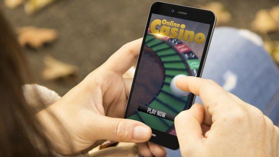 Online gambling image