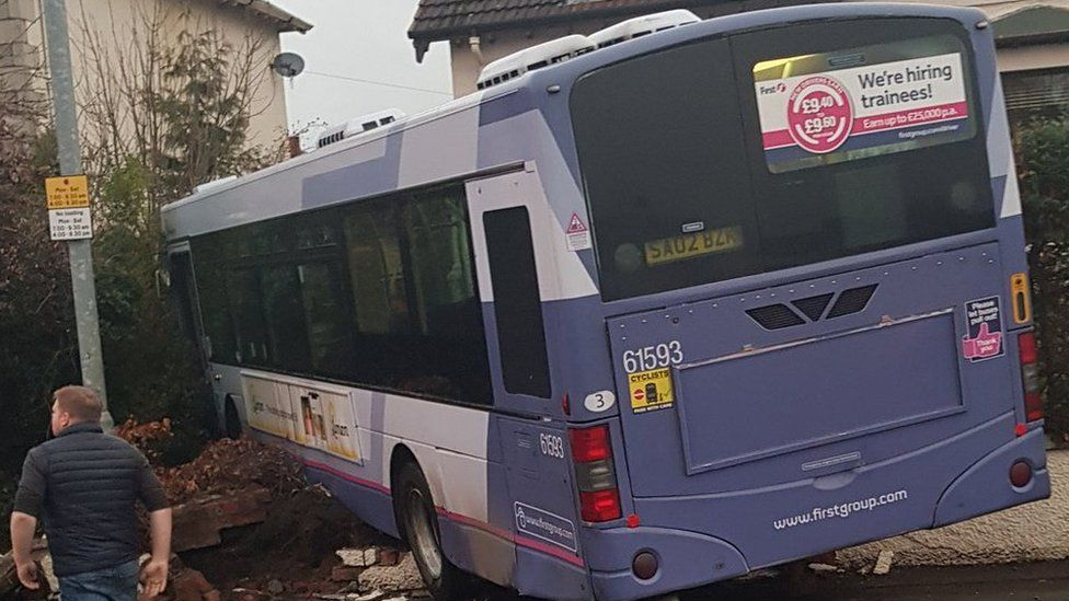 Bus crash aftermath