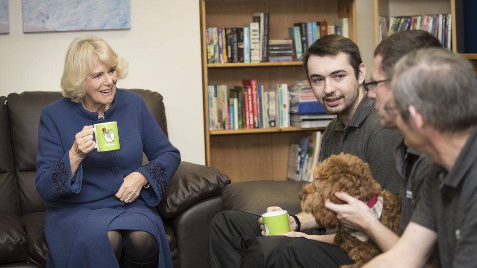 Duchess of Cornwall at Emmaus in Hull