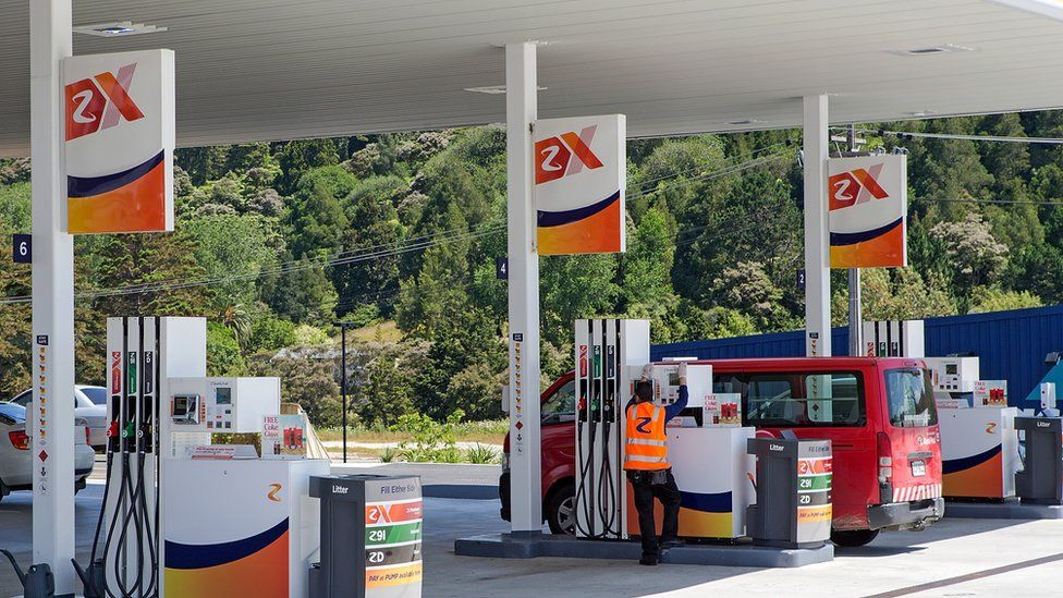Z Energy Service Station in Auckland