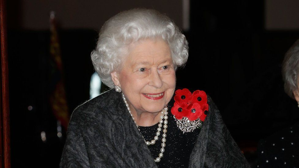 The Queen arrives at the Royal Albert Hall for the concert