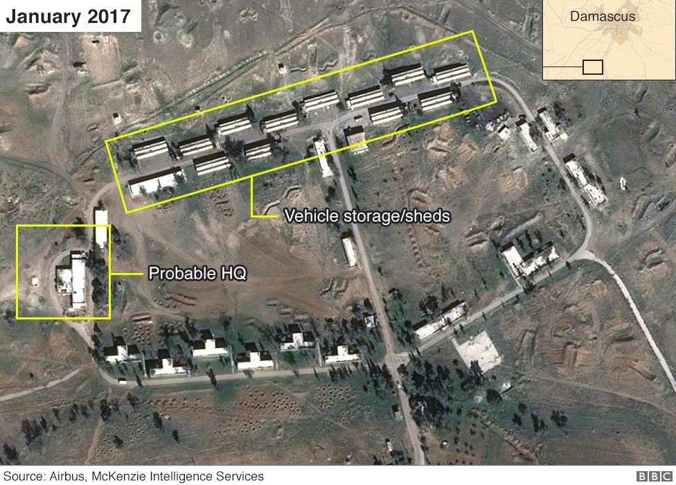 Iran building permanent military base in Syria claim BBC News