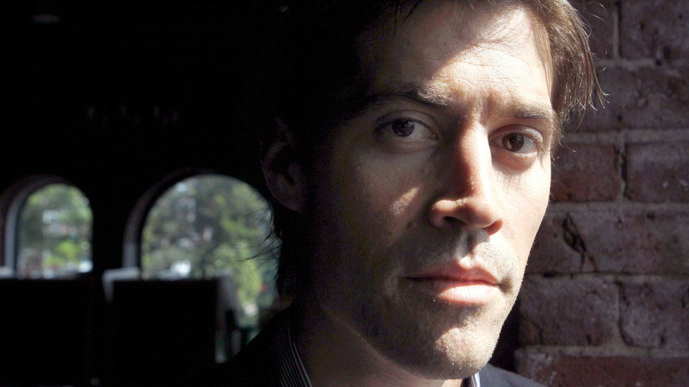 In this May 27, 2011 file photo, American journalist James Foley, of Rochester, N.H., poses for a photo in Boston