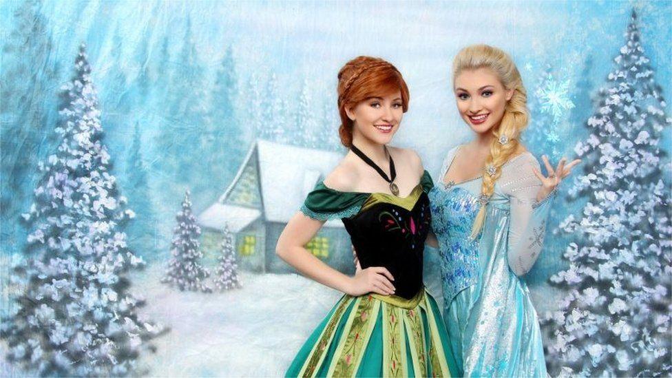Anna Faith and Lexie Grace