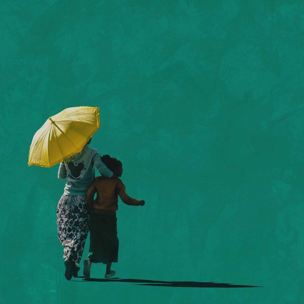 Girma Berta - Moving Shadows II - 2016-2017 - #2 - 40cmx40cm