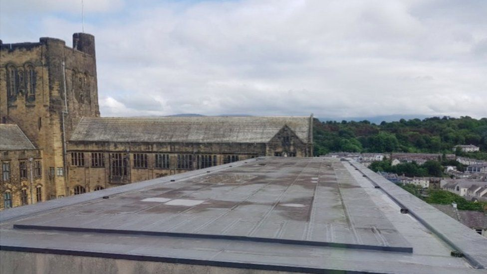 Roof of Bangor University
