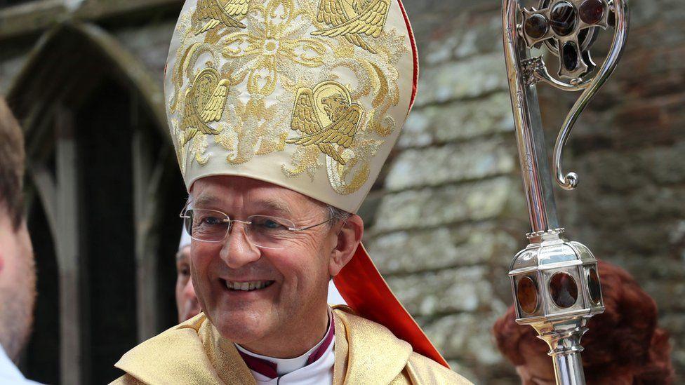 The Archbishop of Wales John Davies