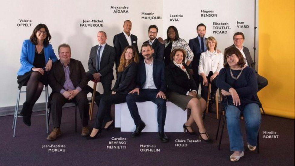 Fourteen En Marche candidates chosen in April