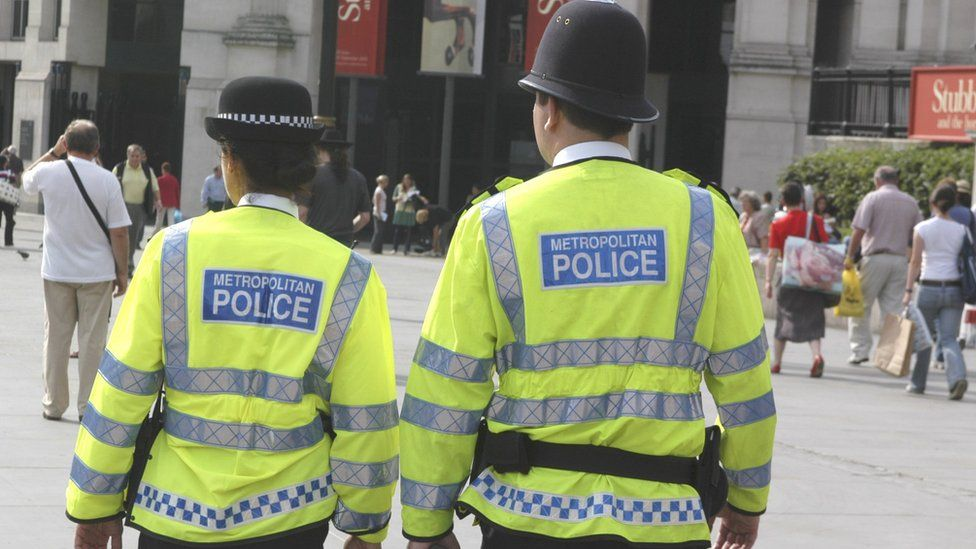 Met Police on patrol