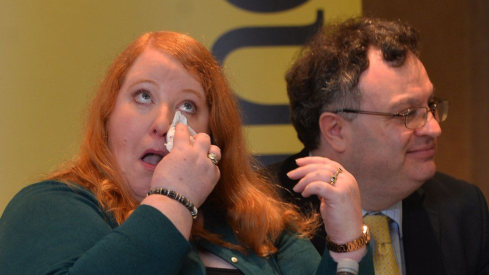 Alliance leader Naomi Long and deputy leader Stephen Farry