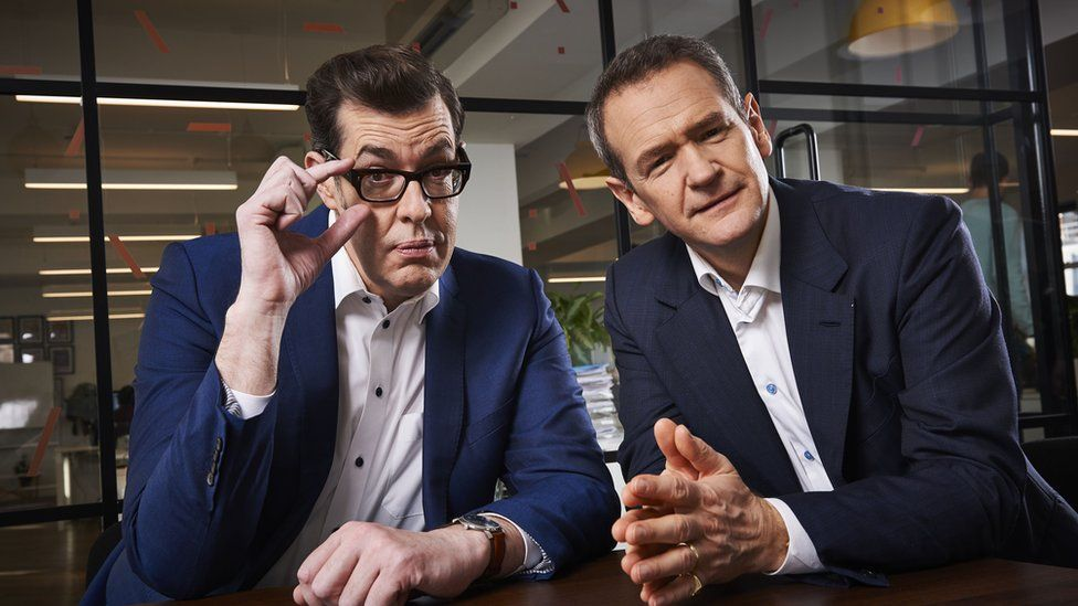 Richard Osman and Alexander Armstrong