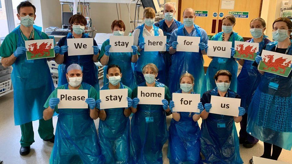 The message is clear from staff at Royal Glamorgan