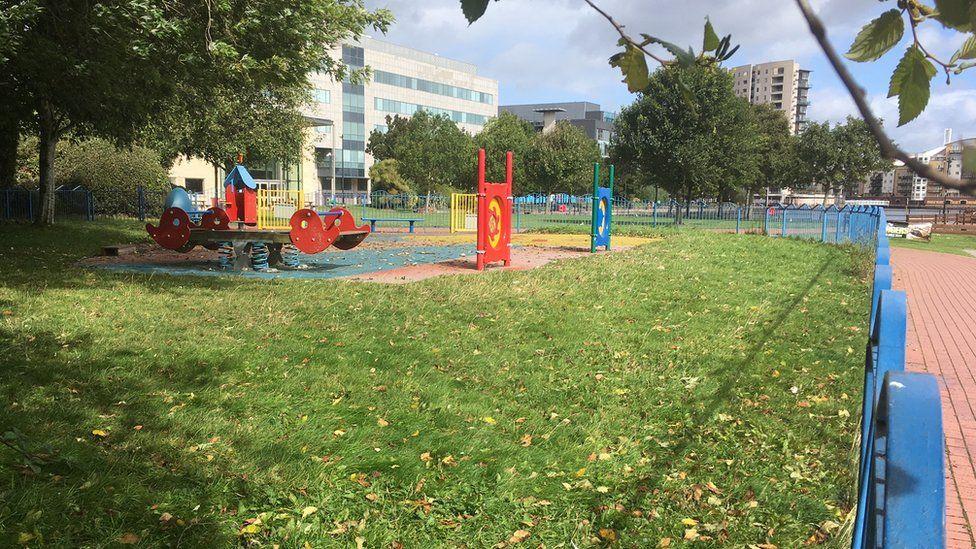 Parc Chwarae Bae Caerdydd
