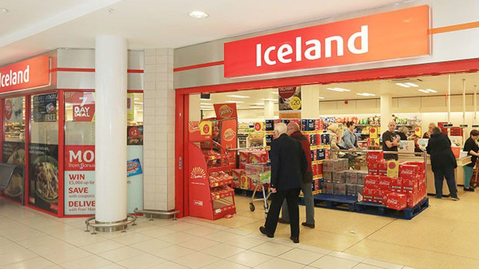 Iceland store in West Belfast