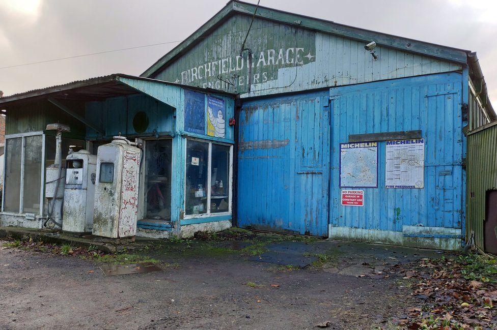 Garage in Shropshire