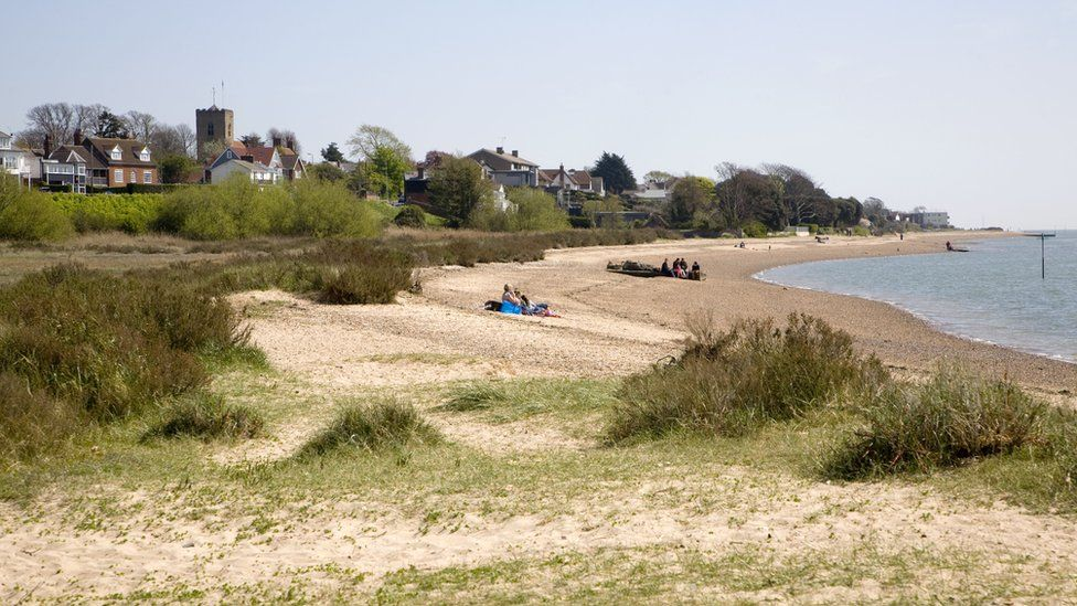 Beach at West Mersea