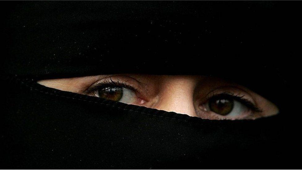 Muslim woman - generic