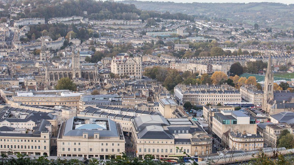 Bath city centre