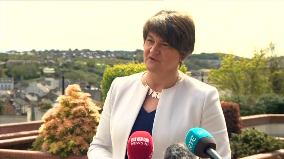 DUP leader Arlene Foster has criticised Michelle O'Neill's decision to attend the commemoration at Loughgall.
