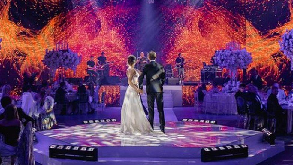 A photo from Maksim Yakubets' wedding