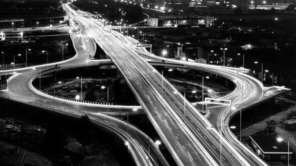 The Westway, pictured 1970