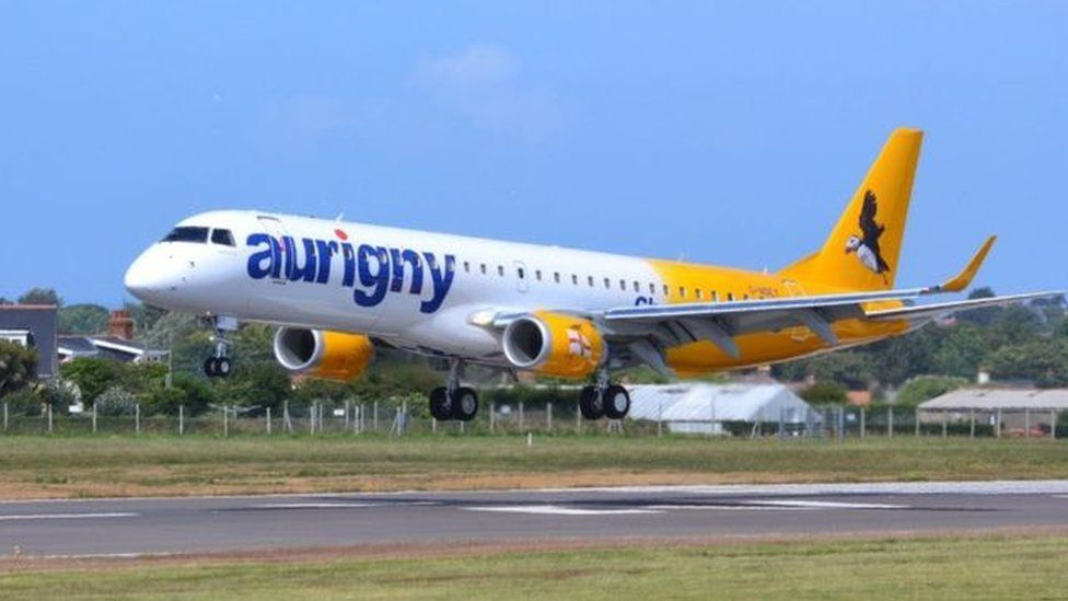 Aurigny airplane