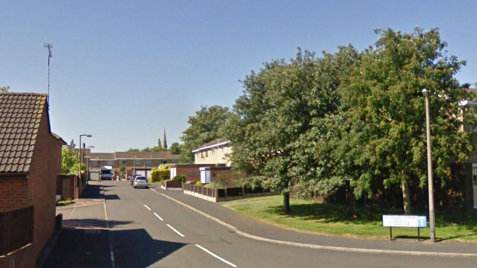 St Chads Road in Burton-upon-Trent