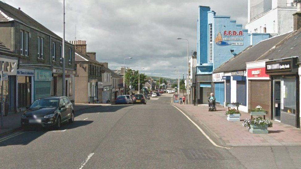 Bank Street, Lochgelly