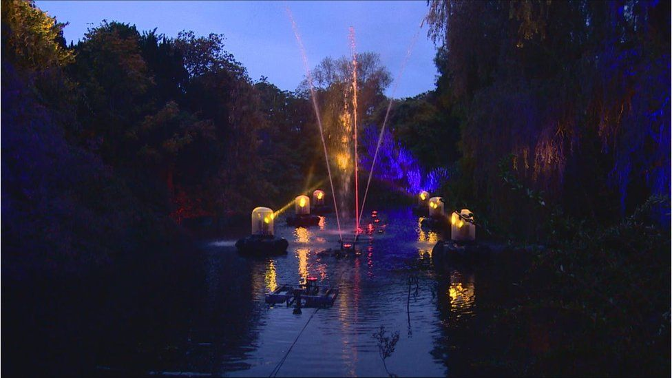 Edinburgh's Botanic Light event