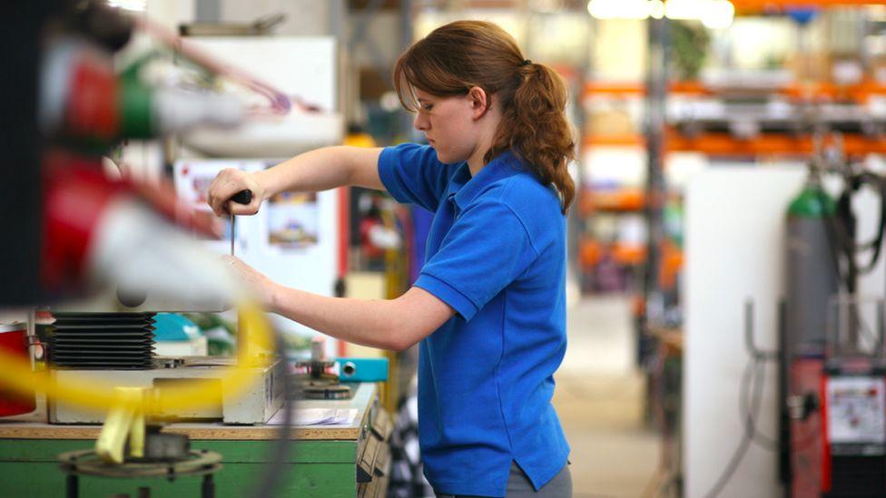 A Swiss industrial worker