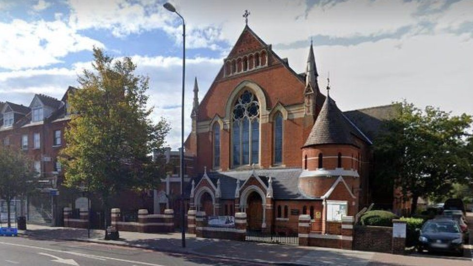 Christ the King church on Balham High Road