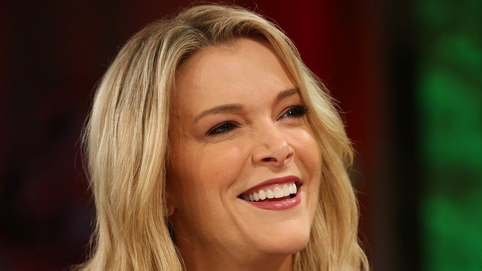Megyn Kelly is a presenter for NBC in the US