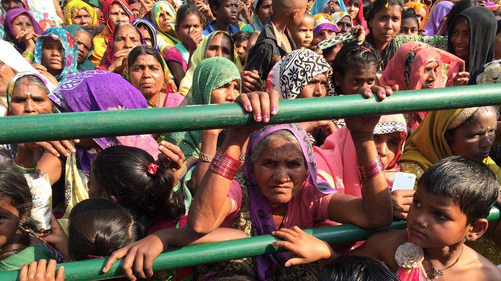 At a Raja Bhaiya rally