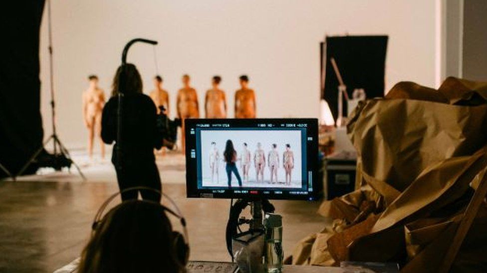 The porn film depicted all body shapes and types