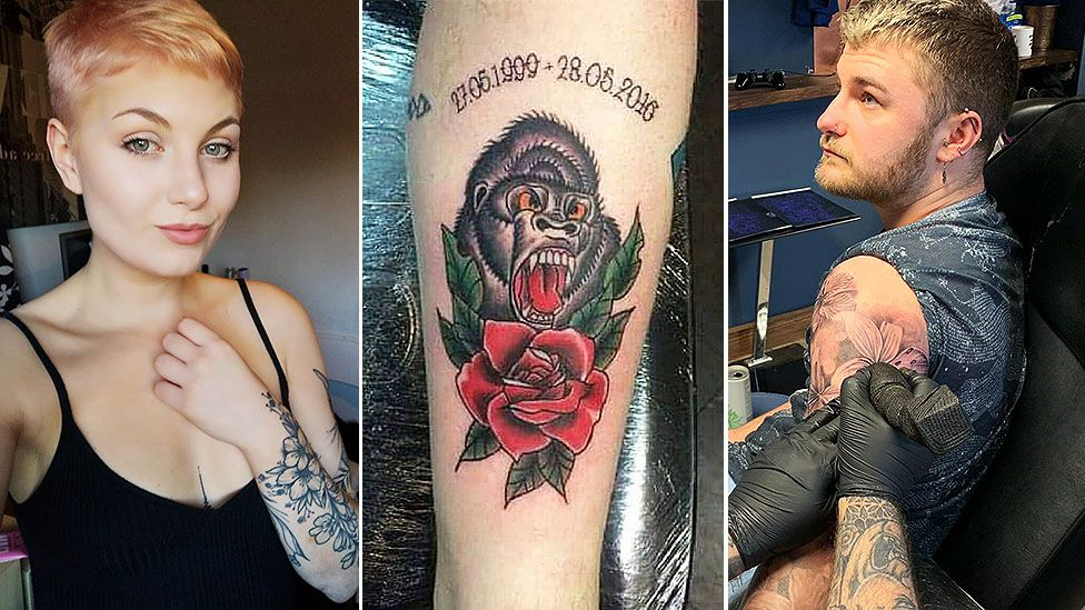 Tattoos: 'The more I have, the more confident I feel'