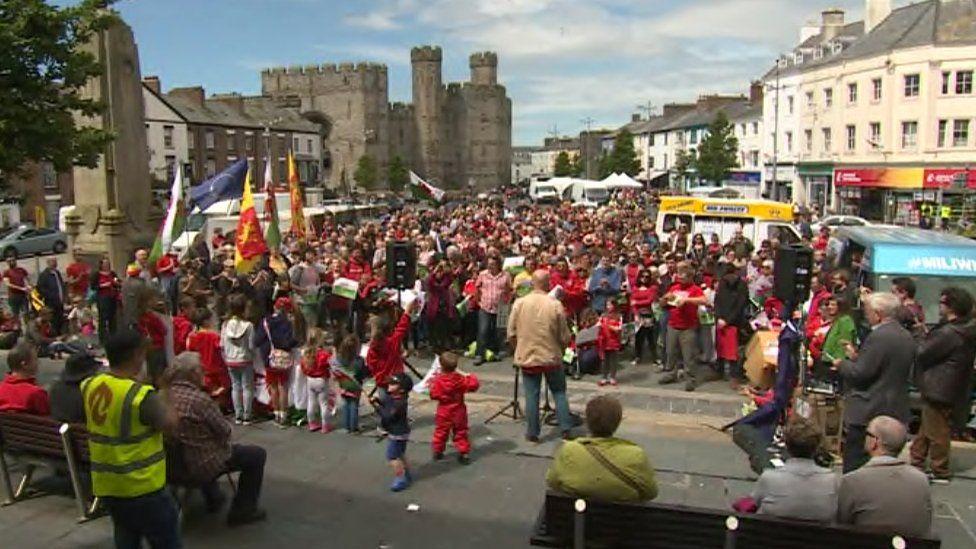 Caernarfon rally