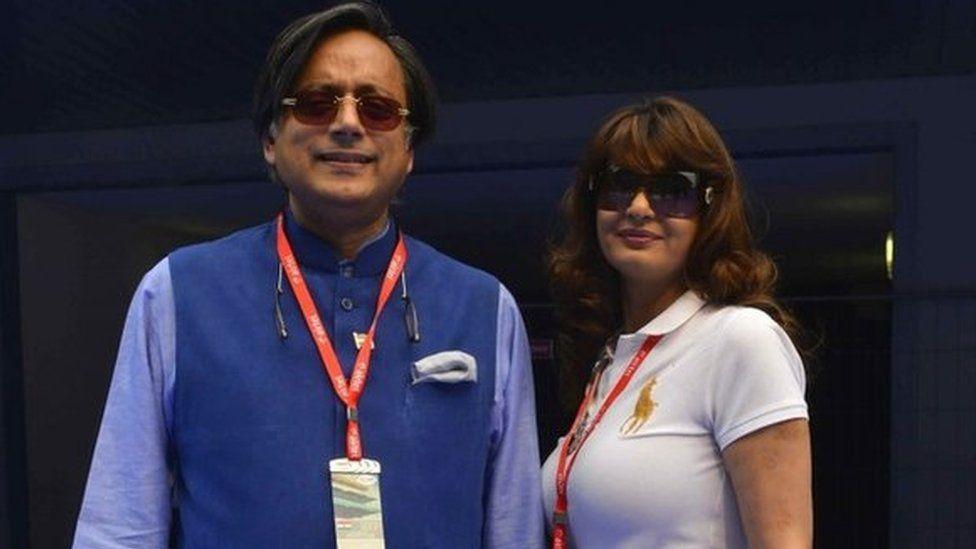 Shashi Tharoor and Sunanda Pushkar (File photo)